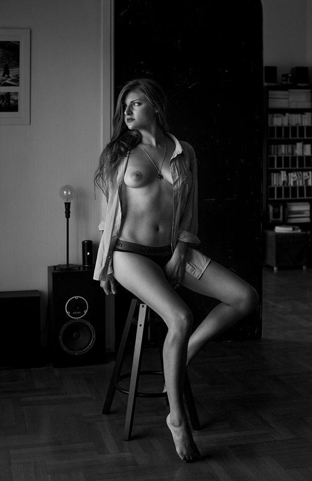 when in greece artistic nude artwork by model nikol bee