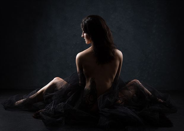 when its all said and done artistic nude photo by model dahliahrevelry