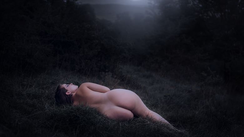 when the spell wears off artistic nude photo by photographer talisk