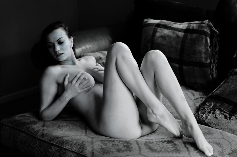 where did i leave the remote artistic nude photo by photographer stenning