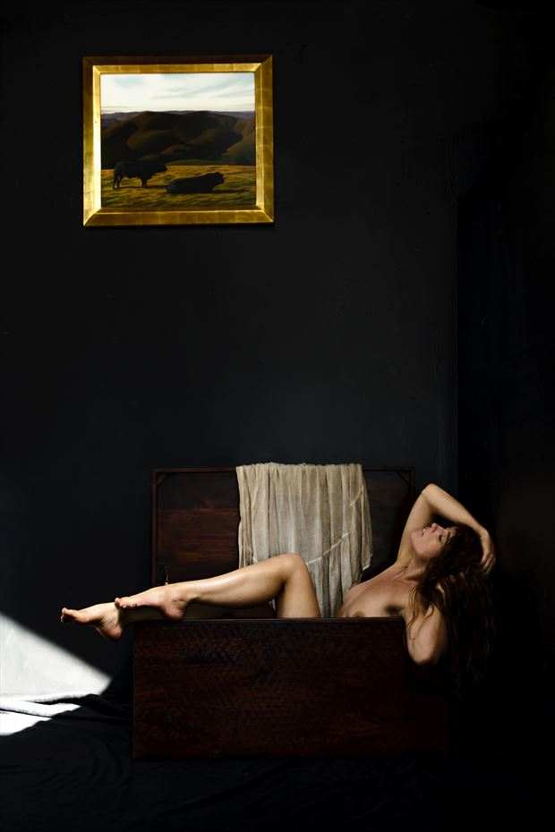 whistler s daughter artistic nude photo by photographer philip turner