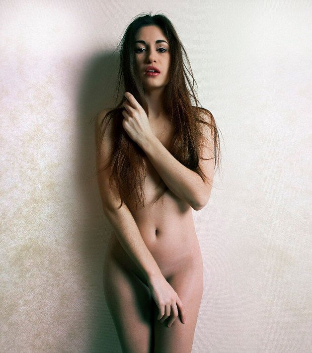 white Artistic Nude Photo by Model Demi Fray