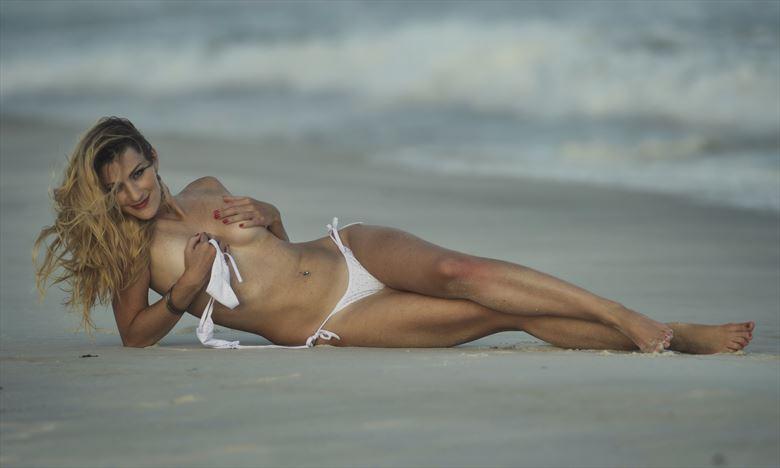 white bikini beach fun bikini photo by photographer legacyphotographyllc