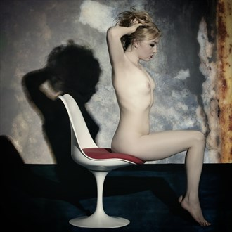white chair Artistic Nude Photo by Photographer Enrico Garofalo