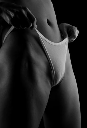 white thong artistic nude photo by photographer barryg