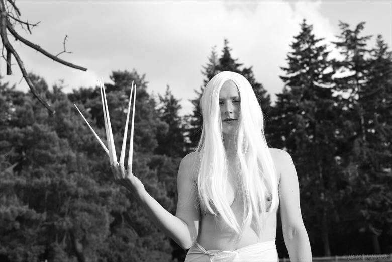 white witch cosplay photo by photographer jb modelwork