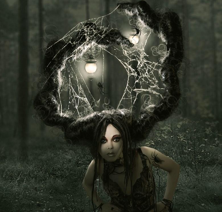 who are you fantasy artwork by artist karinclaessonart