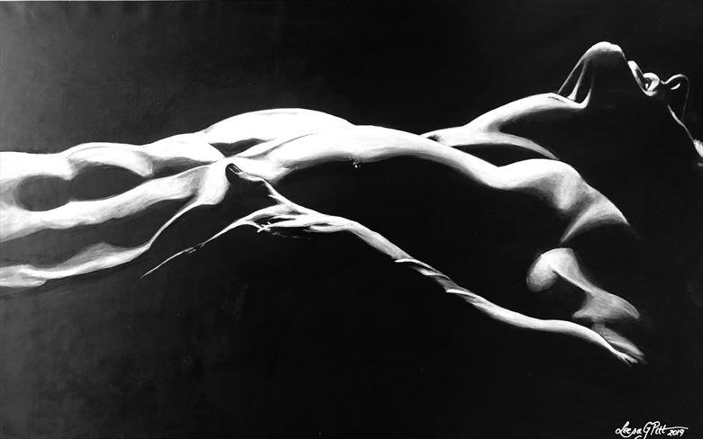 whore artistic nude artwork by artist leesa gray pitt