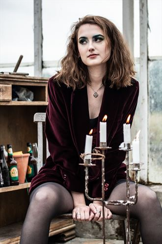 why don t you light my candles portrait photo by photographer lene damtoft