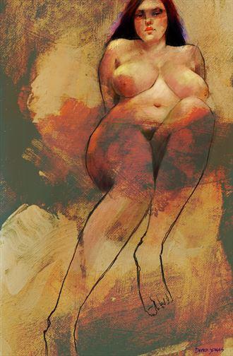 wild one artistic nude artwork by artist jond