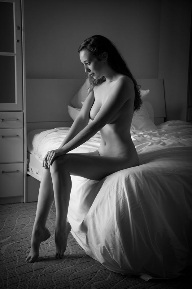willa bed artistic nude photo by photographer dpdodson