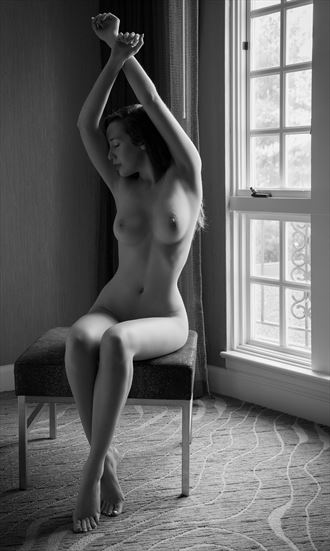 willa window artistic nude photo by photographer dpdodson