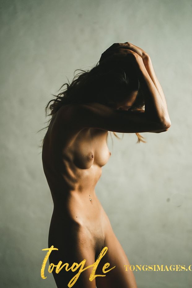 wilting being artistic nude artwork by model lalunagoddess