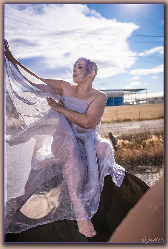 wind sheer Artistic Nude Photo by Artist dregyn