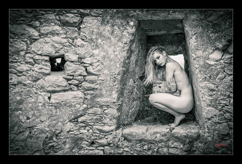 windmill chill artistic nude photo by photographer doug harding