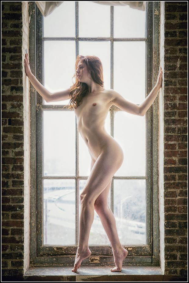 window dressing artistic nude photo by photographer magicc imagery