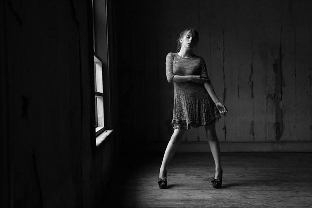 window light  Fashion Photo by Model TheaRosee