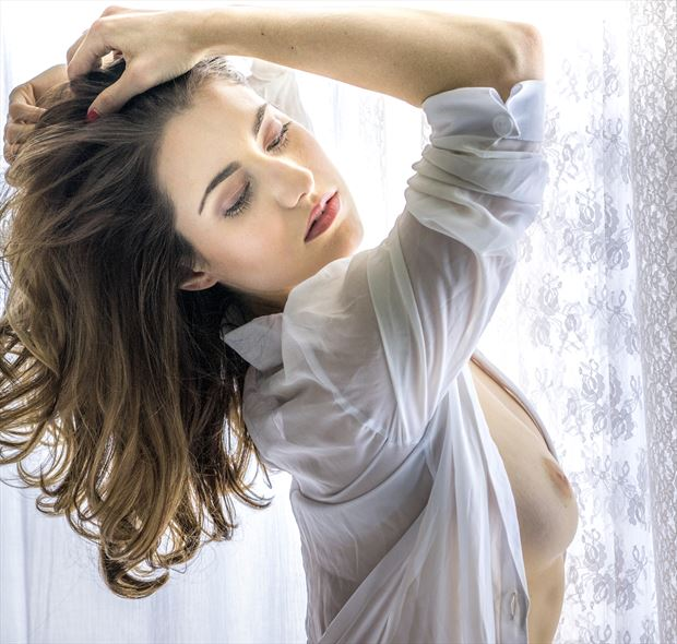 window light artistic nude photo by photographer evan