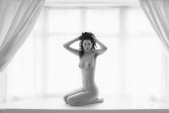 window light artistic nude photo by photographer john mcnairn
