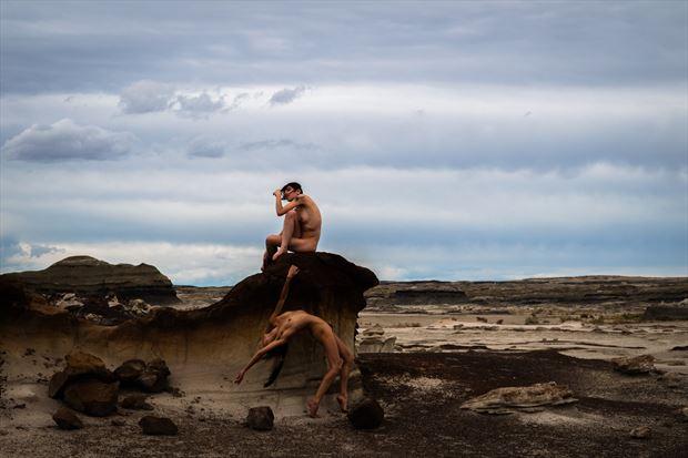 windswept artistic nude photo by model melancholic