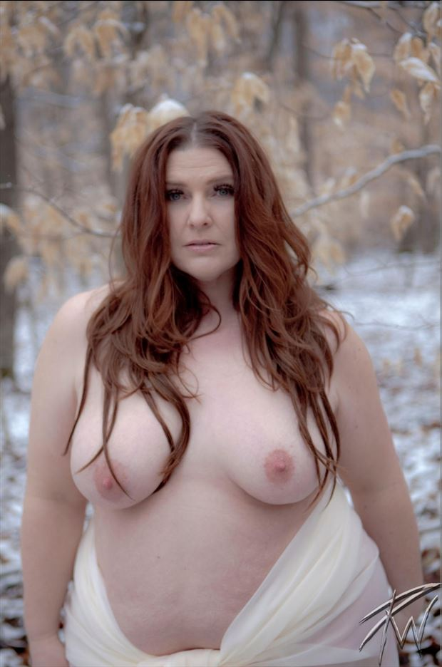 winter beauty artistic nude photo by photographer pwphoto