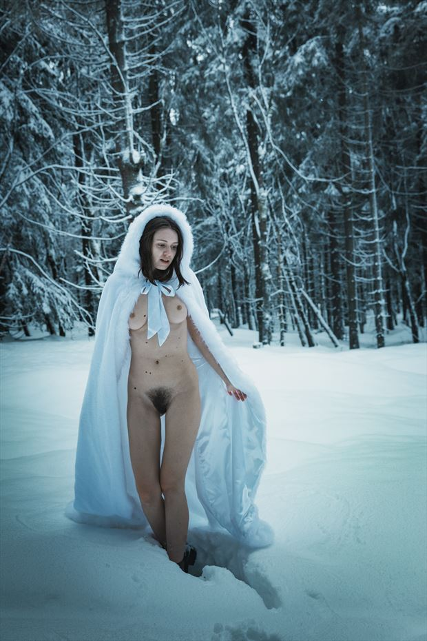winter nude erotic photo by photographer sk photo