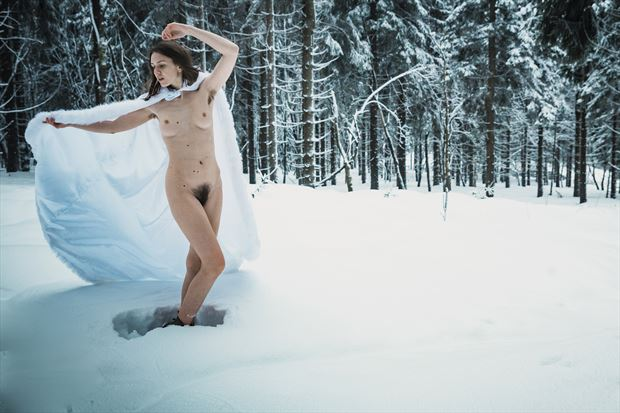 winter nude nature photo by photographer sk photo
