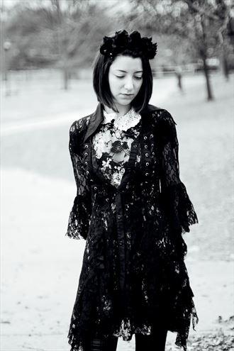 winter portraits fashion photo by artist makeitdarkmakeitgrim