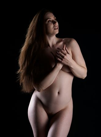 wishing on a star artistic nude photo by photographer stenning