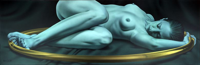 within artistic nude artwork by artist a d cook