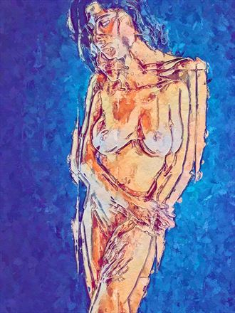 within myself artistic nude artwork by artist obscured09