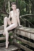 woodland nymph 5 artistic nude photo by photographer jim setzer