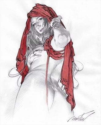 work by james martin fantasy artwork by model the_preraphaelite_woman