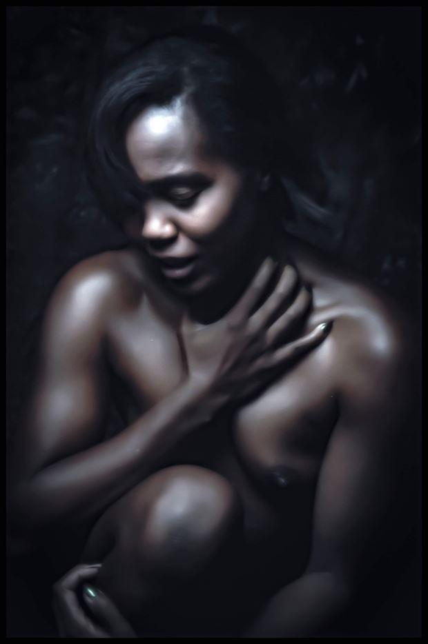wounded soul artistic nude photo by model devoguechaneljohnson