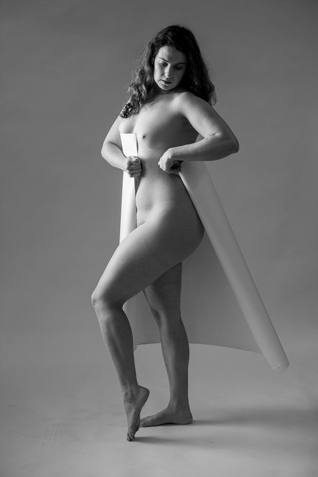 wrapped artistic nude photo by photographer ericr