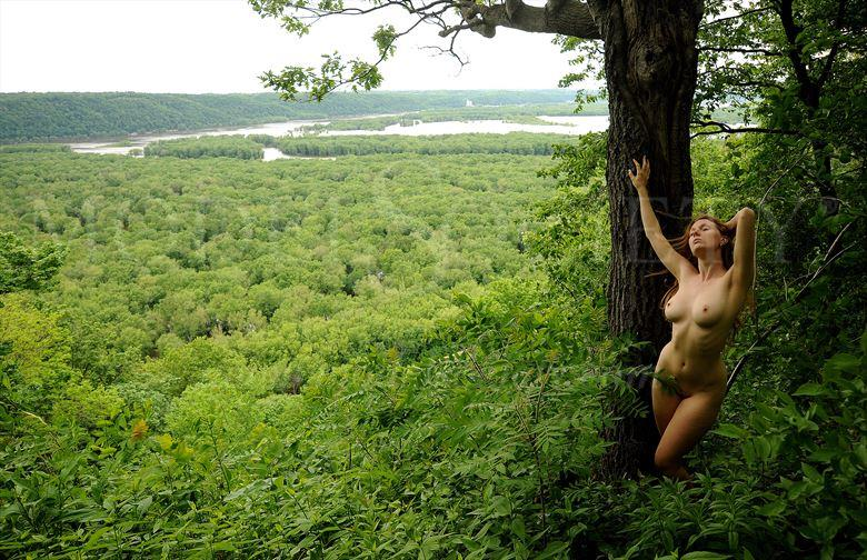 wyalusing state park wi artistic nude photo by photographer ray valentine