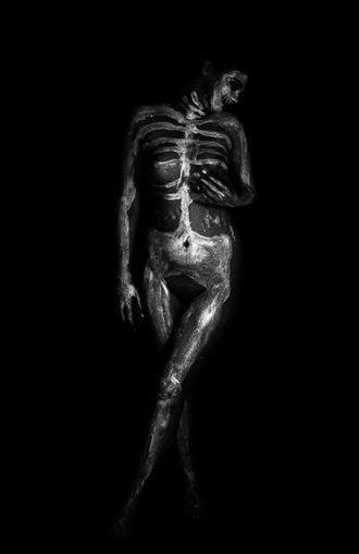 x ray artistic nude artwork by photographer jgphotography