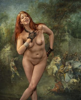 xevv artistic nude photo by photographer tom gore