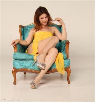 yellow dress royality glamour photo by photographer moorephotographix