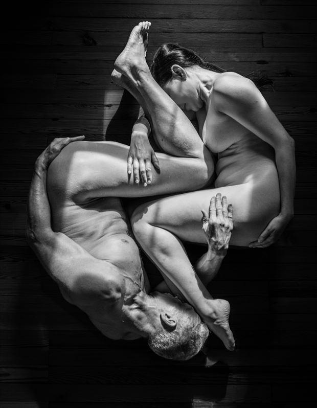 yin yang artistic nude photo by artist artfitnessmodel