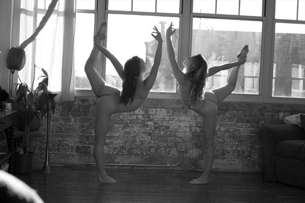 yoga Artistic Nude Photo by Photographer foxfire 555