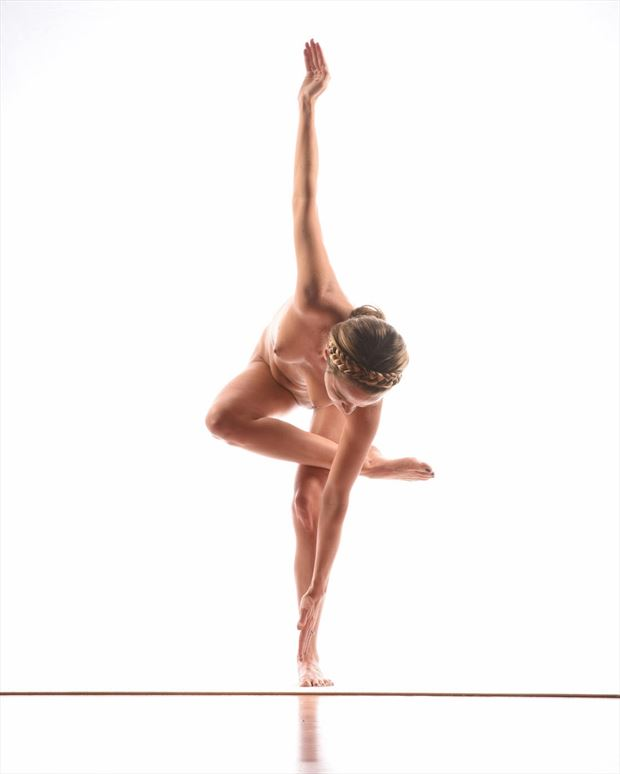 yoga artistic nude photo by model missmissy