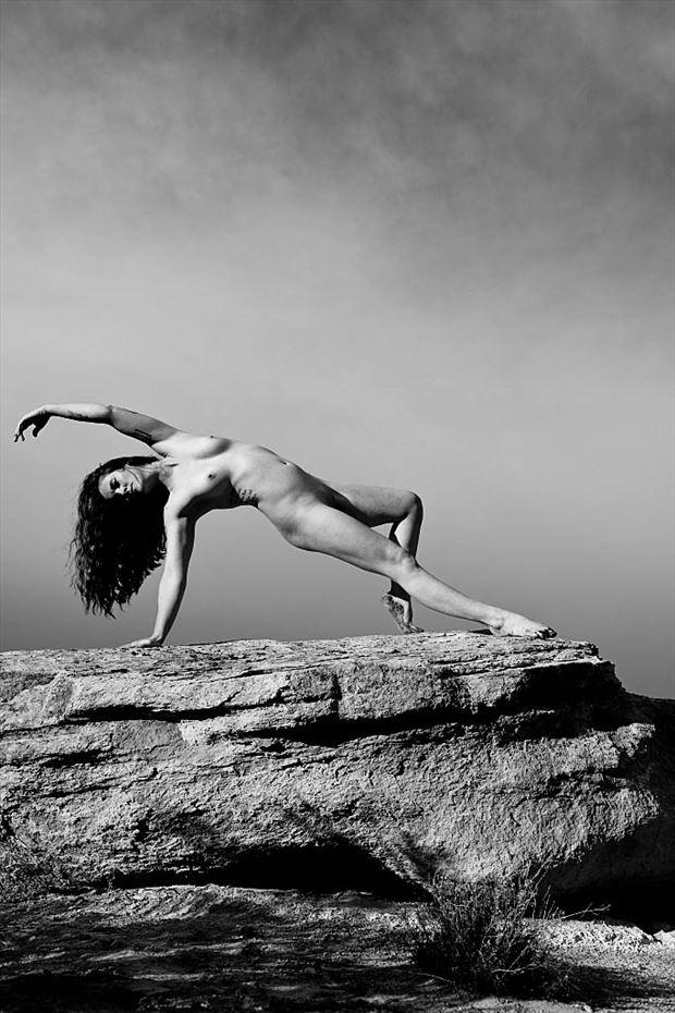 yoga artistic nude photo by photographer werner lobert