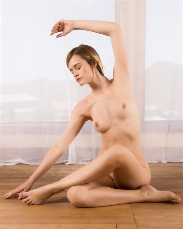 yoga girl Olivia Artistic Nude Photo by Photographer KHolmes
