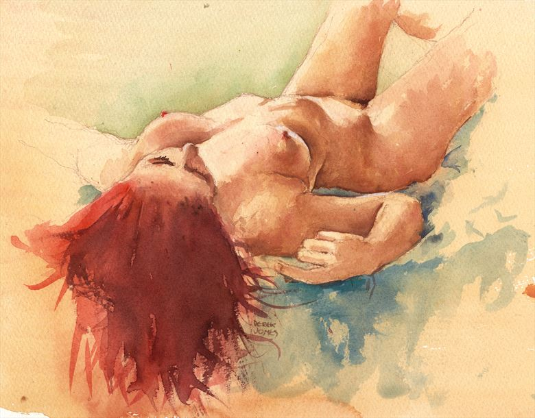 zoe artistic nude artwork by artist jond