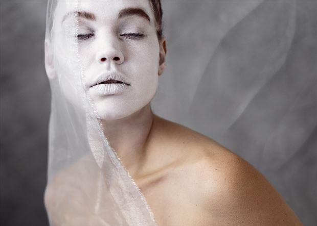 zoe the white surreal photo by photographer ncp photography