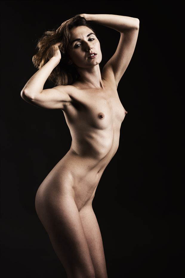 zoe west artistic nude photo by photographer depa kote