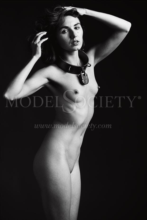 zoe west collared artistic nude photo by photographer depa kote
