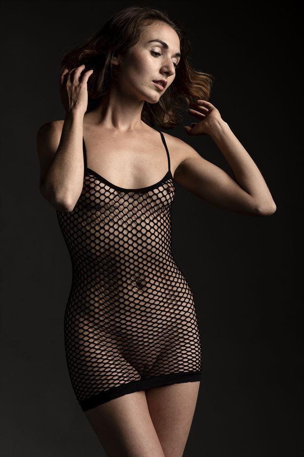 zoe west little black dress lingerie photo by photographer depa kote
