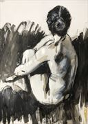 zoey artistic nude artwork by artist rod